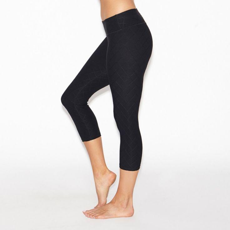 Quilted Capri Legging - Beyond Yoga