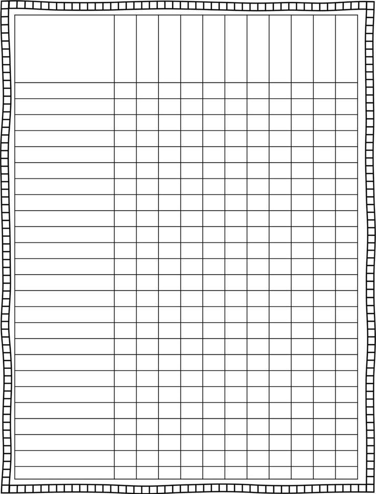 elementary class schedule template
