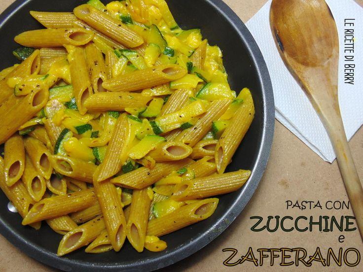 La pasta con zucchine e zafferano è un primo gustosissimo, 100% vegetale, colorato e leggero. Lo zafferano è una delle mie spezie preferite, il profumo, ...