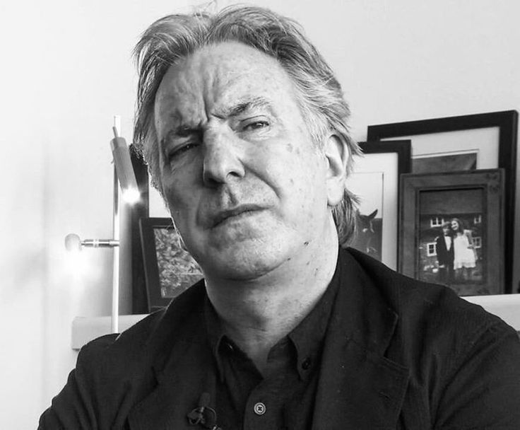 Alan Rickman ... 2014-ish .... maybe ...????
