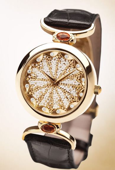 Designed by Roger Thomas for SICIS  #AbstraitCollection #SICIS #Mosaic #Jewelry #Watch