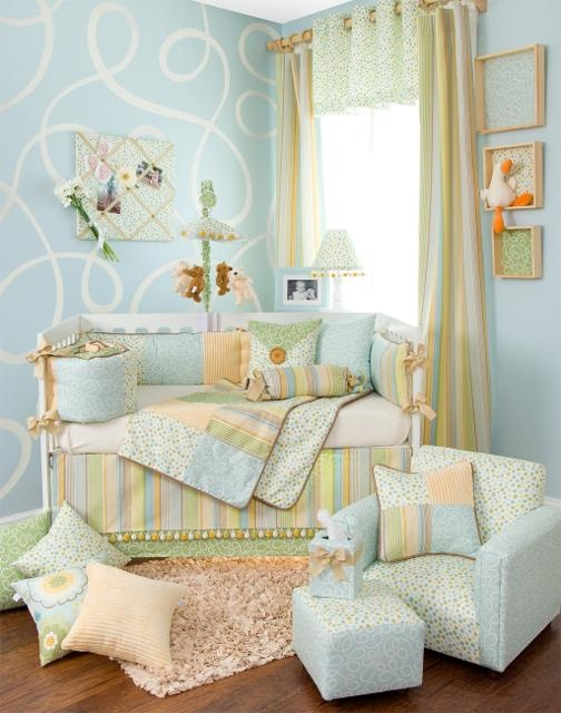 love the colors for neutral nursery