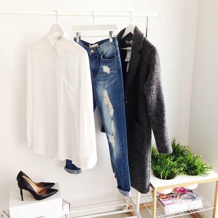 GREY COAT / MONASHE.PL - Sklep online z modna odzieza.