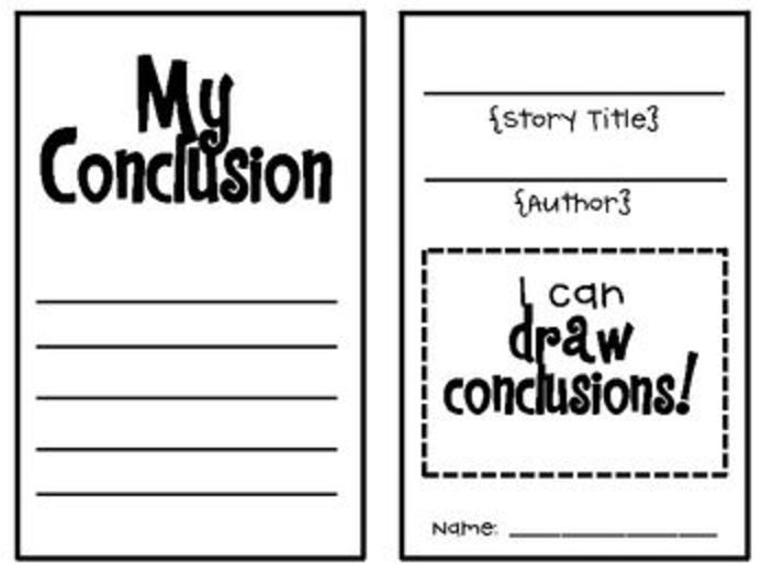 15 Best Drawing Conclusions Images On Pinterest