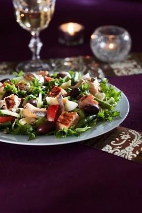 Nizzan lohisalaatti | K-Ruoka #kala