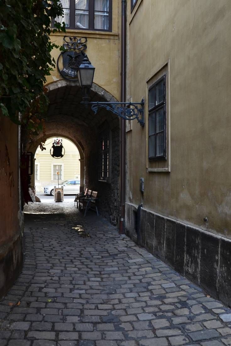 The quaint district on Budapest's Castle Hill mainly consists of 17th and 18th century buildings, making it a prime filming location for period pieces.
