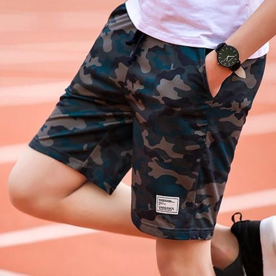 4 color Camouflage Men Sporting Beaching Shorts Trousers Cotton Bodybu – ivroe