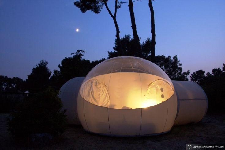 In de Bubble slaap je onder de sterren :: Roomed.nl