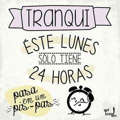 ¡Ya sólo te queda la mitad de este lunes! ¡Ánimo! :)  www.madrid-cerrajeros.es