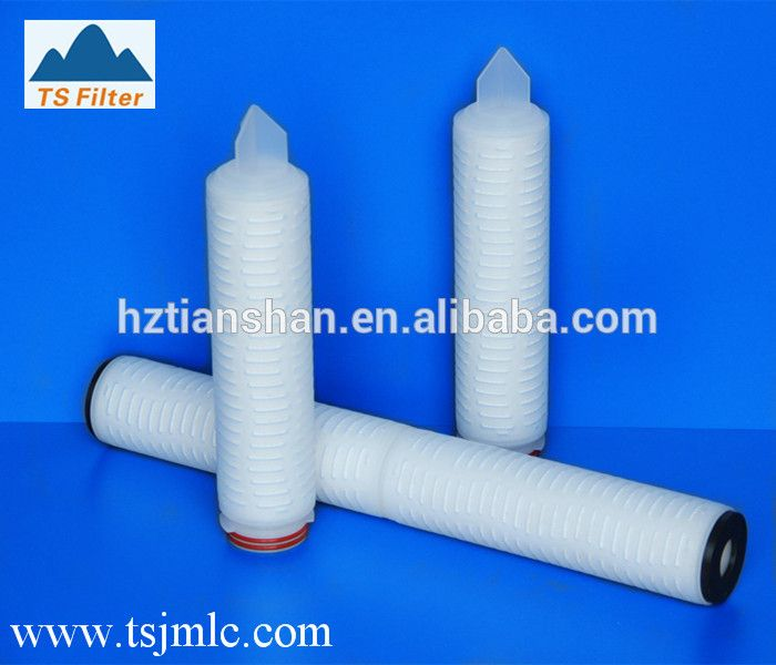 Highly Effective Absolute Hydrophobic PTFE Membrane 0.22um Pore Size Air Filter