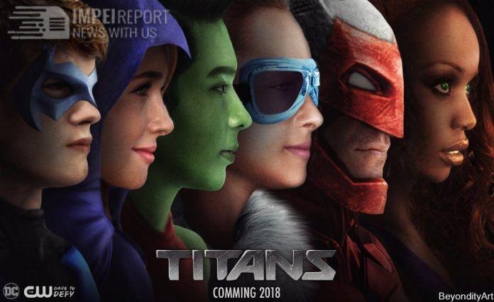 5b4f3706 Titans 2018 Tv Show Series Review Trailer   DC   Teen titans, Titans ...