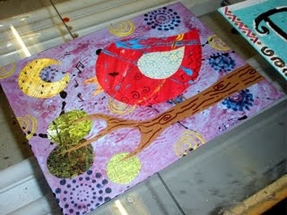 Great examples of using mixed-media with students: Art Lessons, Art Class, Art Ideas, Mixed Media, Kids Art, Media Birds, Mrspicasso Art, Art Projects, Art Rooms