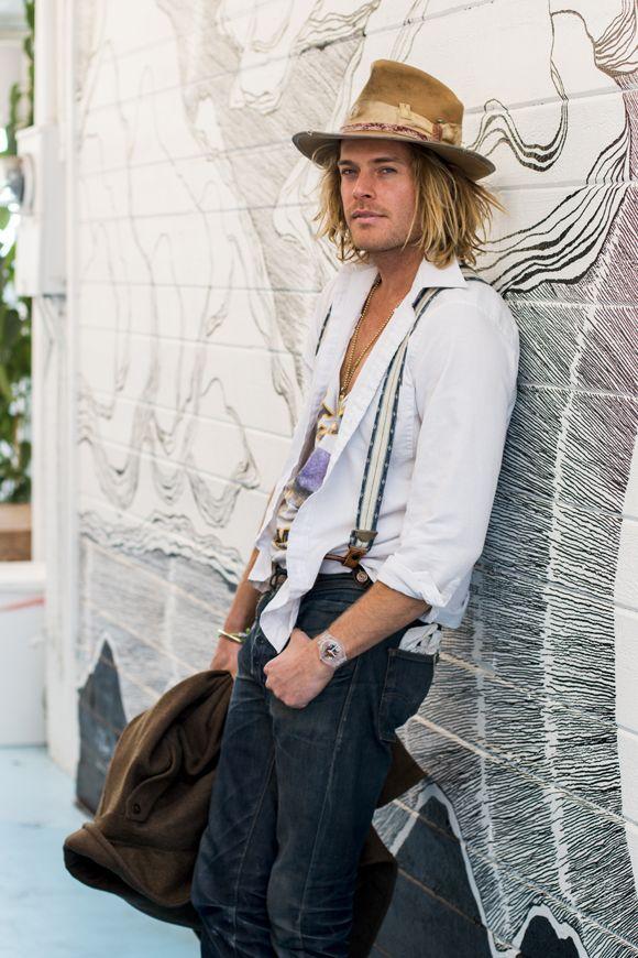 Bohemian Fashion Hats Outfits For Men