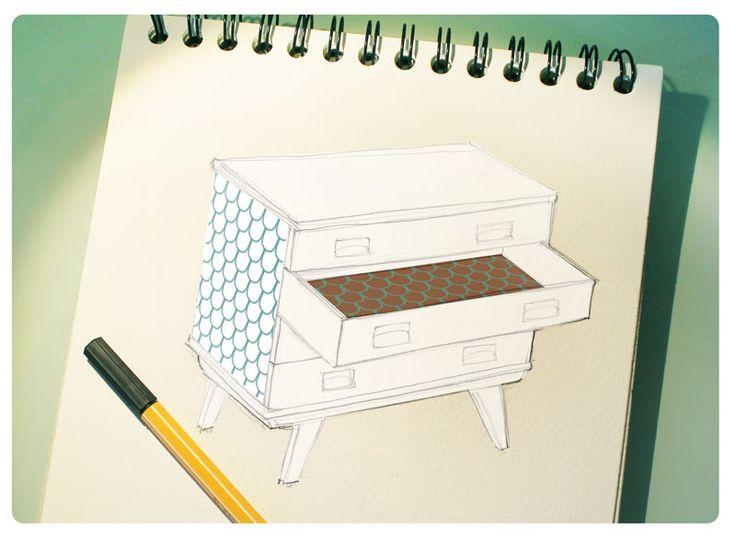 Idée DIY commode