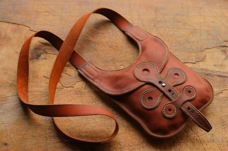 leather bag by NOTLESSOREQUAL.deviantart.com on @DeviantArt