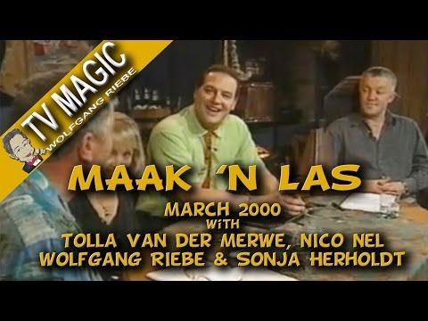 Maak 'n Las: Maart 2000 met Wolfgang Riebe - YouTube