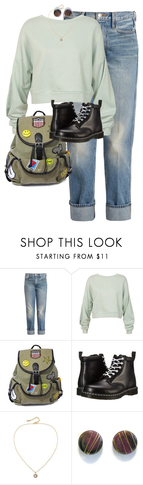 """Wendy"" by shaebutter ❤ liked on Polyvore featuring Frame, Sans Souci, Like Dreams, Dr. Martens and Susan Caplan Vintage"