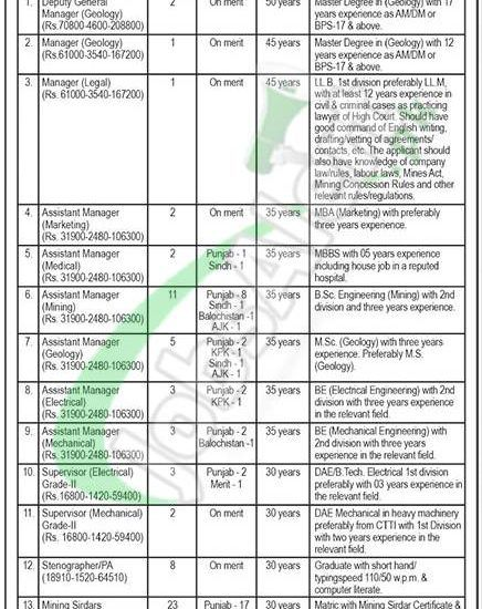 PO Box 2158 Islamabad Jobs 2018 Public Sector Organization