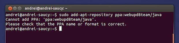 """Se você estava adicionando um repositório e foi interrompido pela mensagem Cannot Add PPA (ou em bom português Não é possível adicionar o PPA) veja aqui como resolver isso.  Boa parte dos procedimentos de instalação feitos aqui no blog começam com a adição de um repositório. Mas se seu procedimento ficou parado logo nesse primeiro passo será preciso fazer uns ajustes.  Leia o restante do texto Como corrigir o erro """"Cannot Add PPA no Ubuntu""""  from Como corrigir o erro Cannot Add PPA no Ubuntu"""