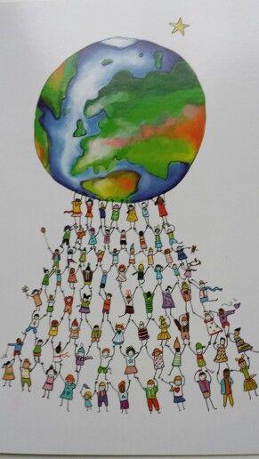 Samen dragen we de wereld