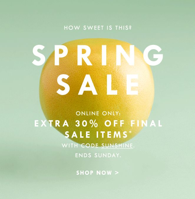 JCrew.com newsletter emailing animated spring sale