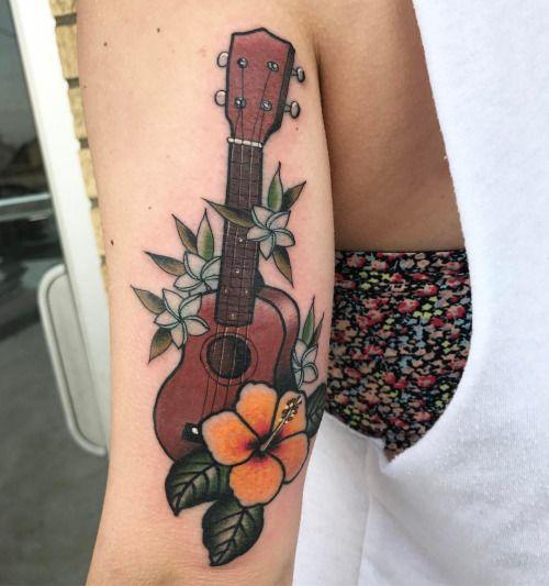 Résultats de recherche d'images pour «ukulele tattoo»