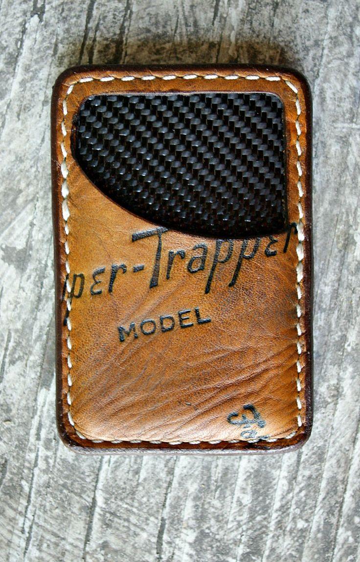 Recycled baseball glove wallet - Front Pocket Wallet Built From Vintage Baseball Gloves Vvego Http Www