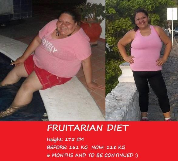 Check out Kristina's amazing progress on a fruitarian/raw ...