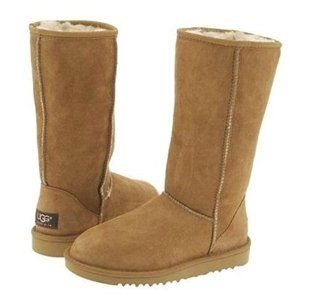 """FASHION POLICE. Ugg Boots. Pottstown Middle School principal Gail Cooper's note to parents: """"I have banned open top boots from classrooms."""" Problems? Cell phones hidden in boots! Students are allowed to bring phones to school but they have to be kept in lockers during class time. But parents are sick of school clothing bans. Said one, """"Uggs.... pockets, bras, socks, what's next??"""" One pupil said the ban won't work. """"Girls hide cell phones in their bras. Plus my phone fits in my sneaker."""""""