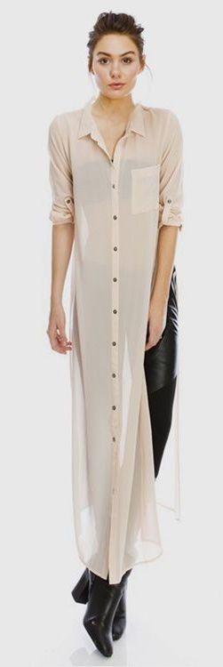 Camisa com fendas laterais + jeans. http://bit.ly/fendas-laterais