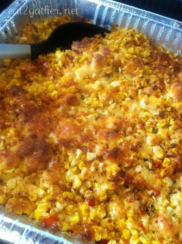 Mexican corn bake.  I still dream about the dish that Spanish club served at back to school bash, LHS 2001?