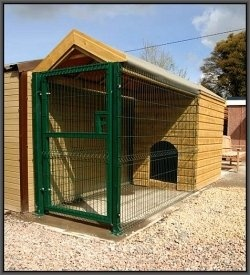 Developed for the intention of keeping dogs confined, dog runs or dog kennels are restricted places that keep your dogs safe