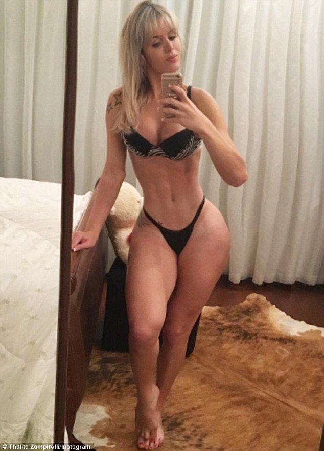 Thalita Zampirolli From Brazil In 2019  Bikinis -6703
