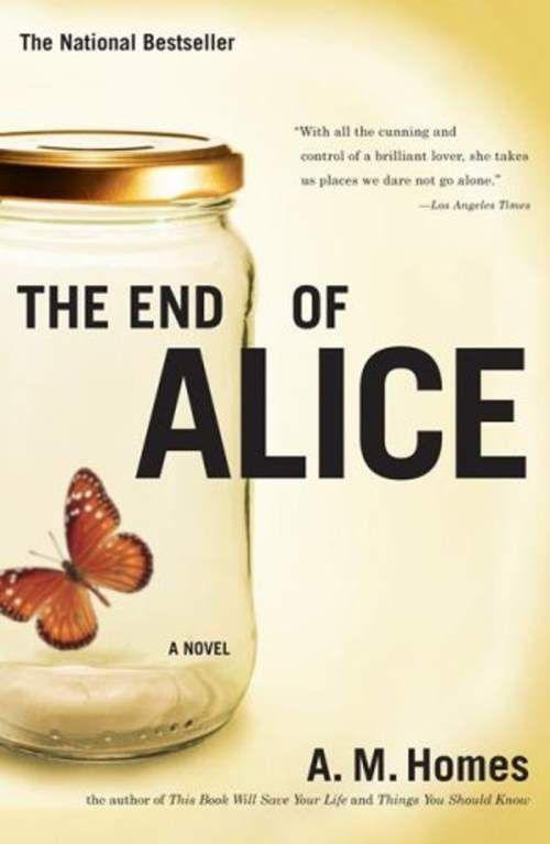 The End of Alice...one of several disturbing books.... We allneed to read a book that scares the poo out of us.