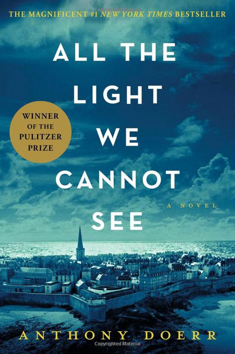Winner of the Pulitzer Prize: All the Light We Cannot See by Anthony Doerr