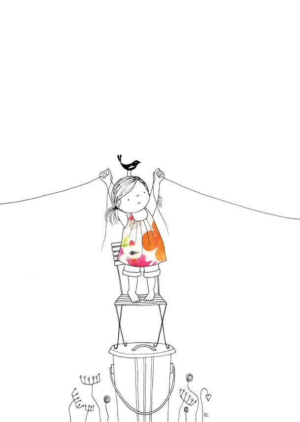 """Schönes Bild für """"etwas miteinander verbinden""""  Esther Leeuwrik"""