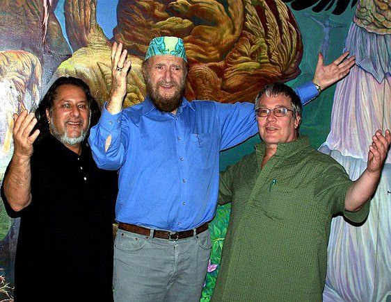 from left: Philip Rubinov Jacobson, Ernst Fuchs, De Es Schwertberger