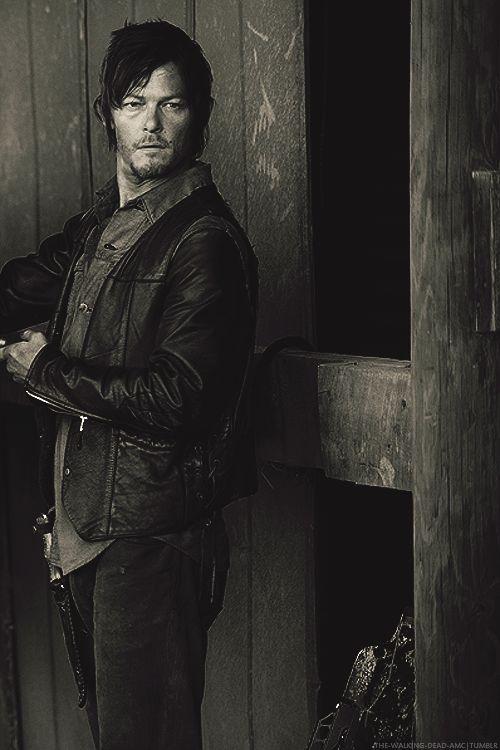 Daryl Dixon. I love The Walking Dead, he's my favorite.