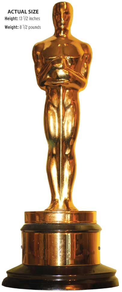17 best images about award statues on pinterest mtv for Oscar awards winning movies