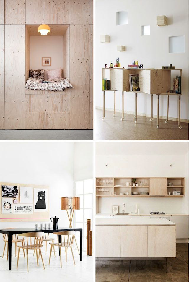 Decorating with Plywood