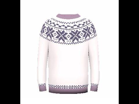 """Как связать детский свитер спицами «Лопапейса». How to knit sweater """"Lop..."""