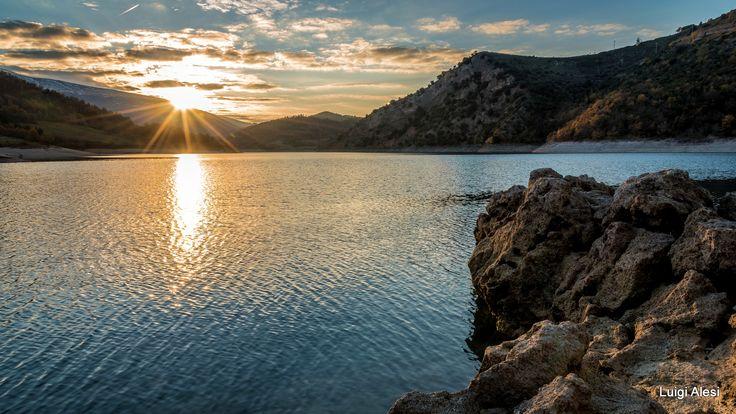 lago di Fiastra - Parco Nazionale Monti Sibillini