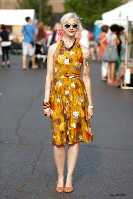 Très Awesome ♥ Chicago Street Style: Chicago Street Fashion - Karen Dethrose