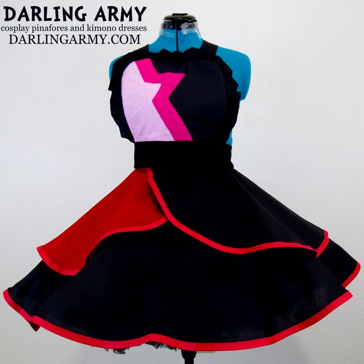 Garnet Steven Universe Cosplay Pinafore by DarlingArmy on DeviantArt
