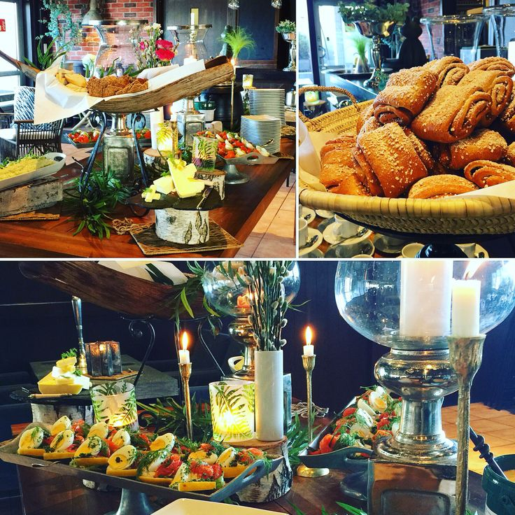 Sweets, delicious food and fun in a buffet