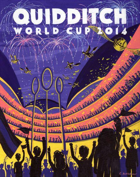 Quidditch World Cup by Caroline Hadilaksono #HarryPotter