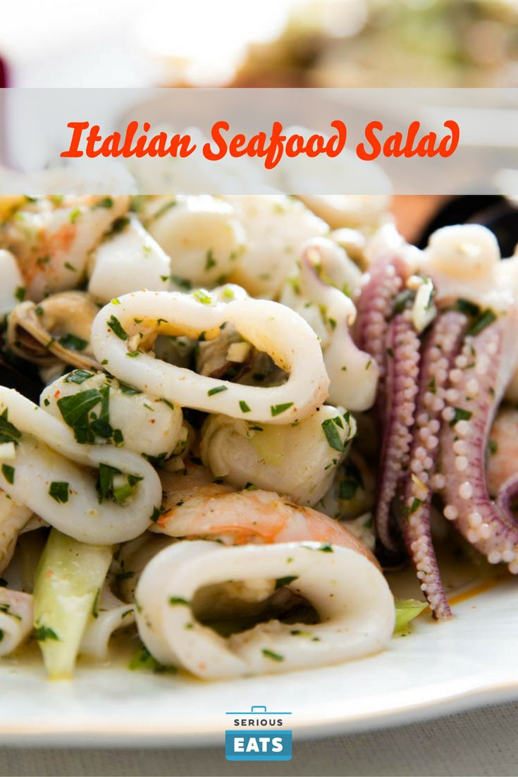 A light, bright seafood celebration.