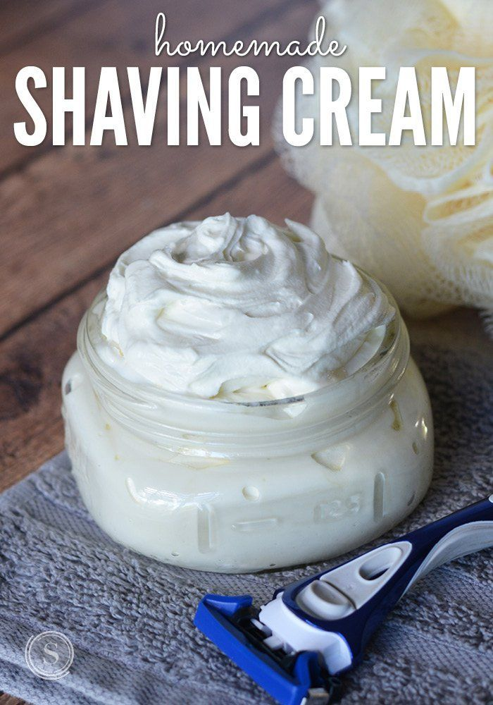 A homemade shaving cream recipe that is easy to make and perfect for your shower routine. I love that this is all natural, affordable, and I like knowing what ingredients are included!