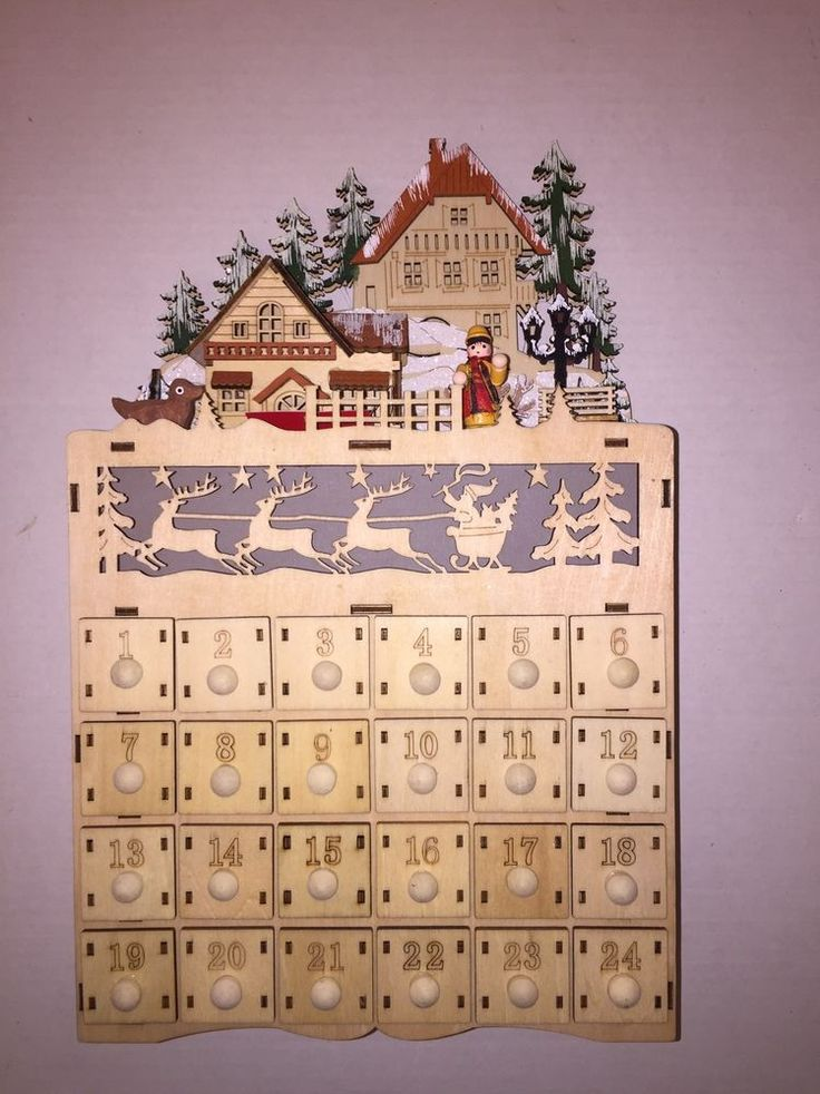 how to make a wooden calendar