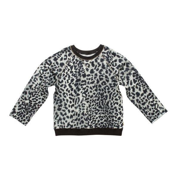 Snow Cheetah Sweater